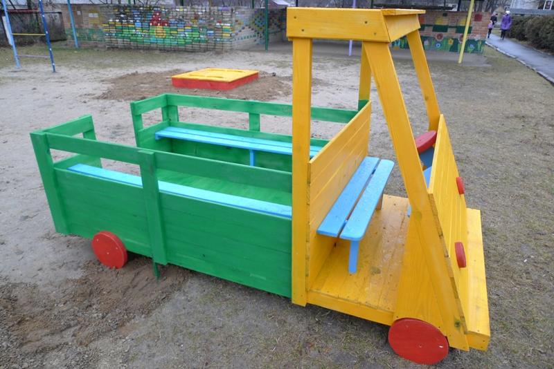 Детская машинка своими руками фото