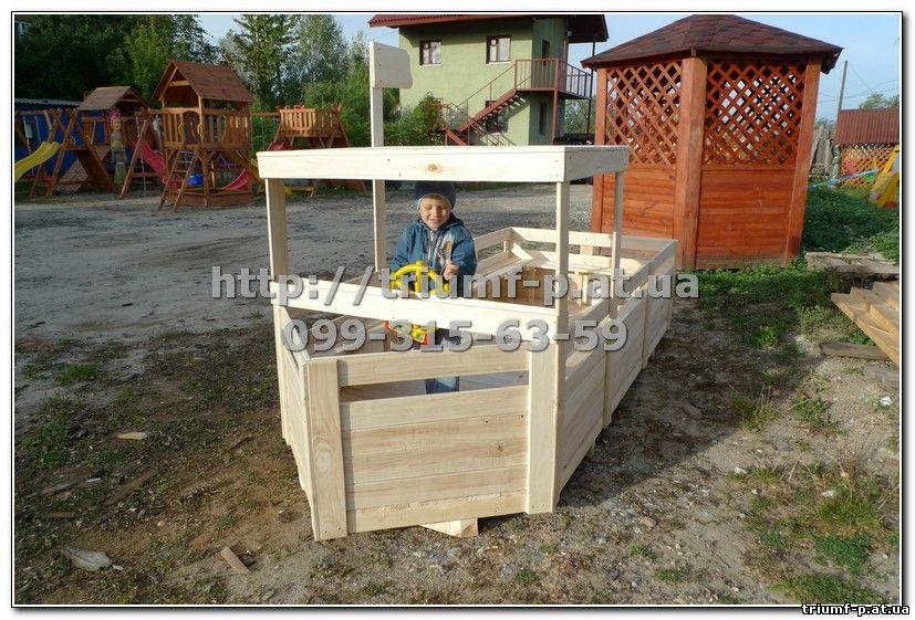 Детский кораблик на детскую площадку своими руками 517